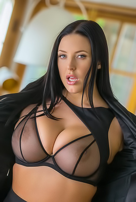 /Busty Naked Angela White Playboy Plus Debut