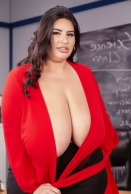 /Sofia Rose Silky-haired Teacher So Dirty