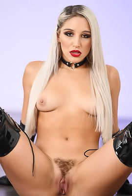 /Abella Danger In Sexy Leather Outfit