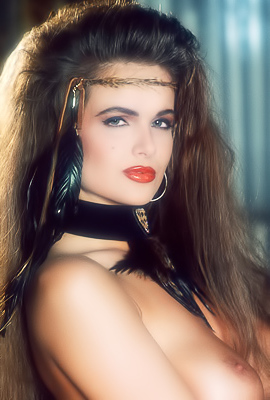 /Tiffany Burlingame Penthouse Pet Of The Month For February 1994